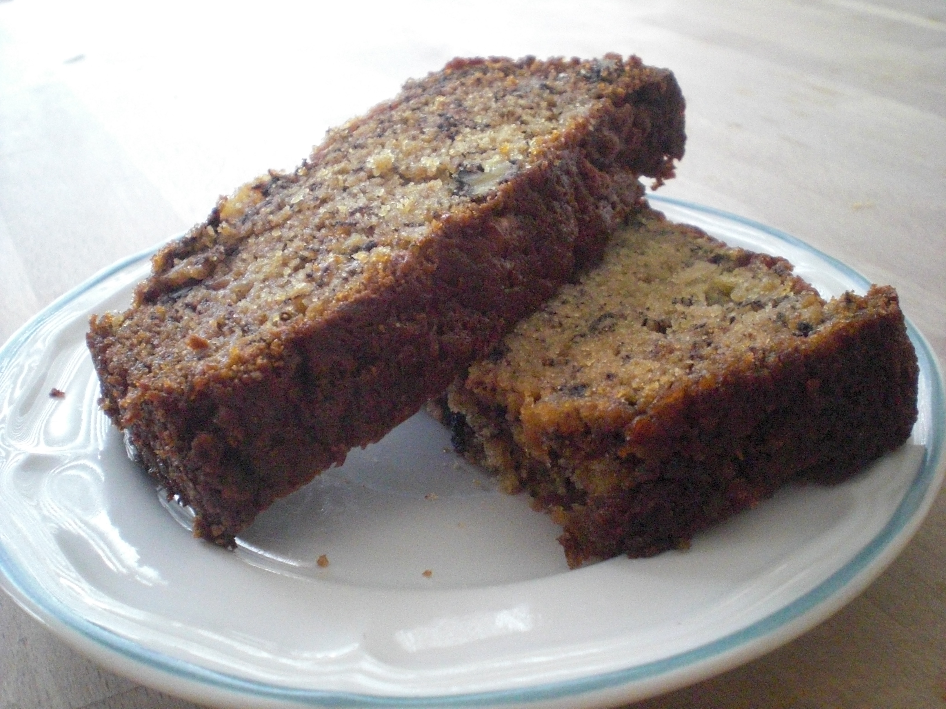 Banana walnut bread maryann and the kitchen table so forumfinder Choice Image